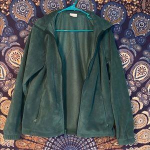 Columbia Fleece zip up NWT
